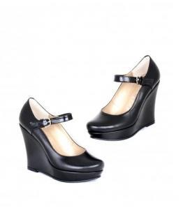 Туфли женские на танкетке с ремешком оптом, обувь оптом, каталог обуви, производитель обуви, Фабрика обуви Sateg, г. Санкт-Петербург
